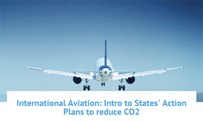 UN CC:e-Learn tutorial on CO2 emissions reduction for international aviation