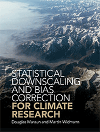 Maraun, Widmann, 2018: Statistical Downscaling and Bias Correction for Climate Research. Cambridge Univ. Press